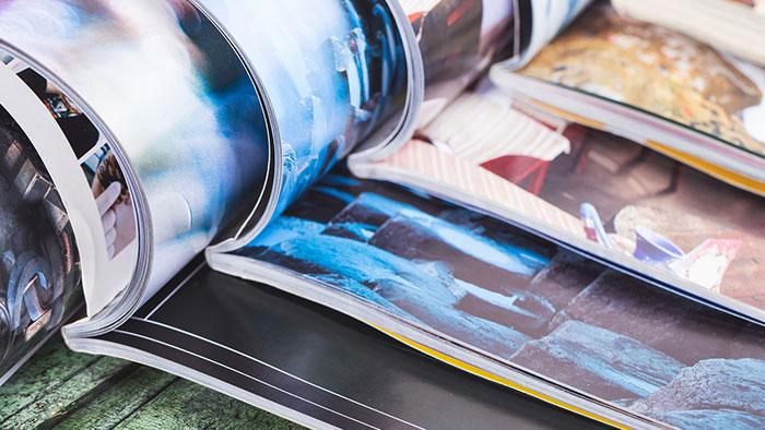 Printmedien Magazine