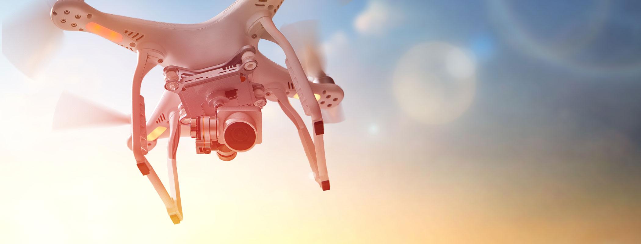 Drohnen-Aufnahmen